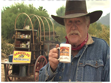 Don Collier and Arbuckles Coffee