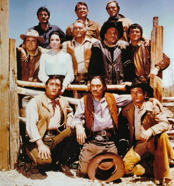 The High Chaparral Cast