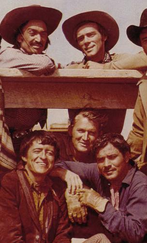Ted Markland, Henry Darrow, Don Collier, Bob Hoy, Roberto Contreras