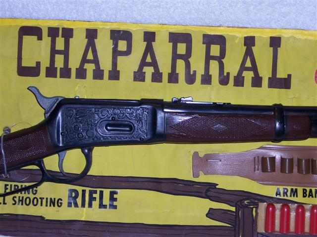 High Chaparral toy rifle
