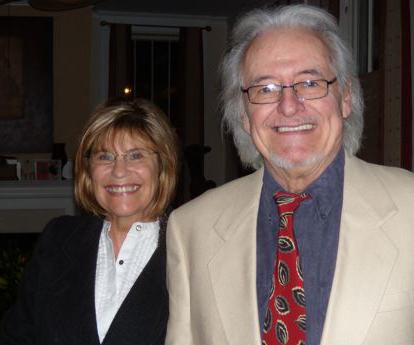 Lauren Levian and Henry Darrow