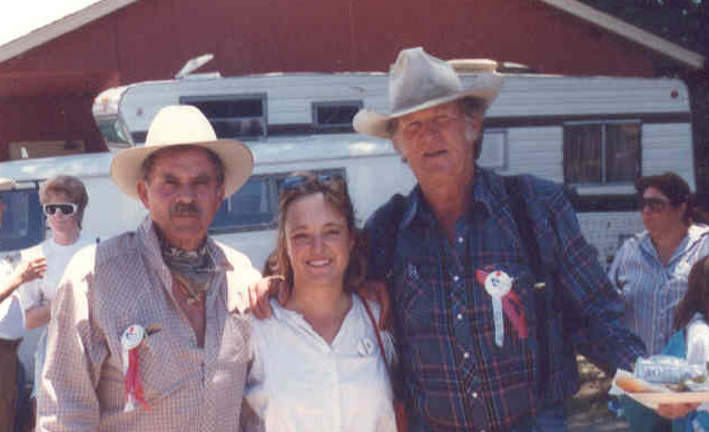 Bob Hoy, fan Michele and Don Collier