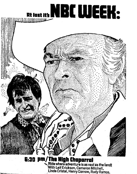 High Chaparral NBC Ad