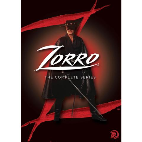 New World Zorro DVD