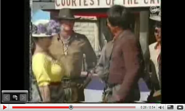 Video Clip from High Chaparral episode Champion of the Western World