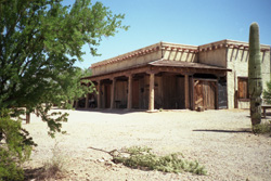 High Chaparral Ranch House at Old Tucson