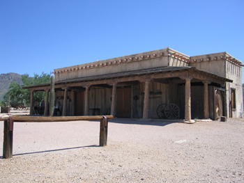 High Chaparral ranch house at Old Tucson, photo by Penny McQueen