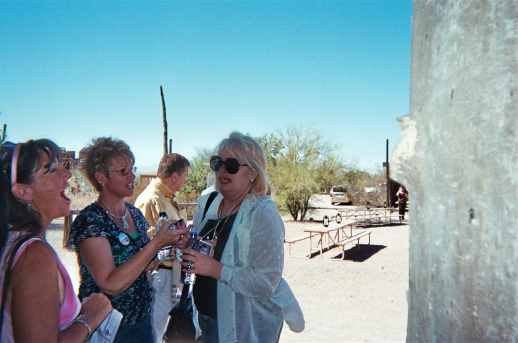 Susan McCray, Cyrstal Hudson, Penny McQueen at The High Chaparral