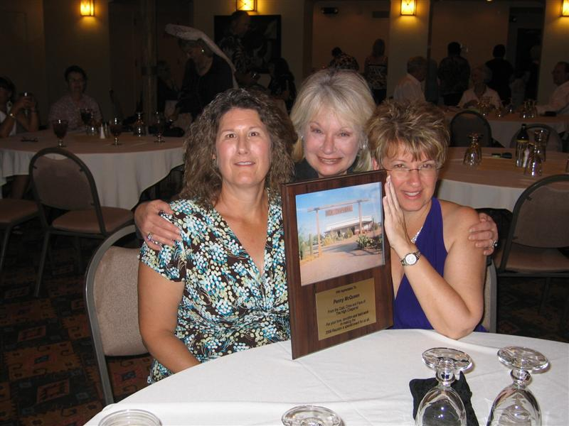 Jan Pippins, Susan McCray and Penny McQueen at The High Chaparral Reunion 2009