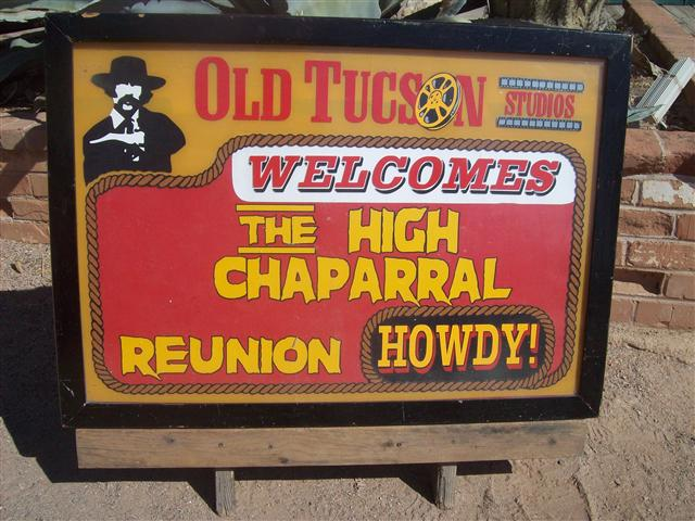 Old Tucson High Chaparral