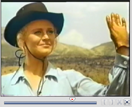 Annalee Cannon names the ranch 'High Chaparral' in this scene from Destination Tucson