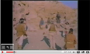John Cannon Learns speaks with Cochise in The High Chaparral