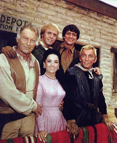 High Chaparral Cast